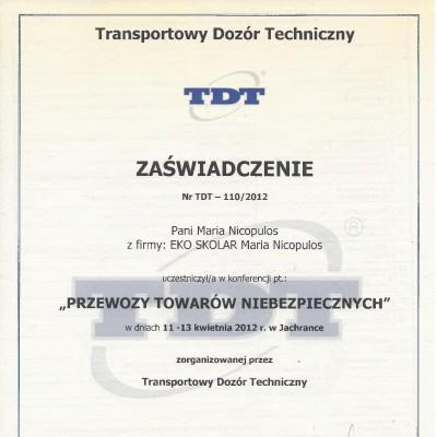 30. 2012 MN TDT